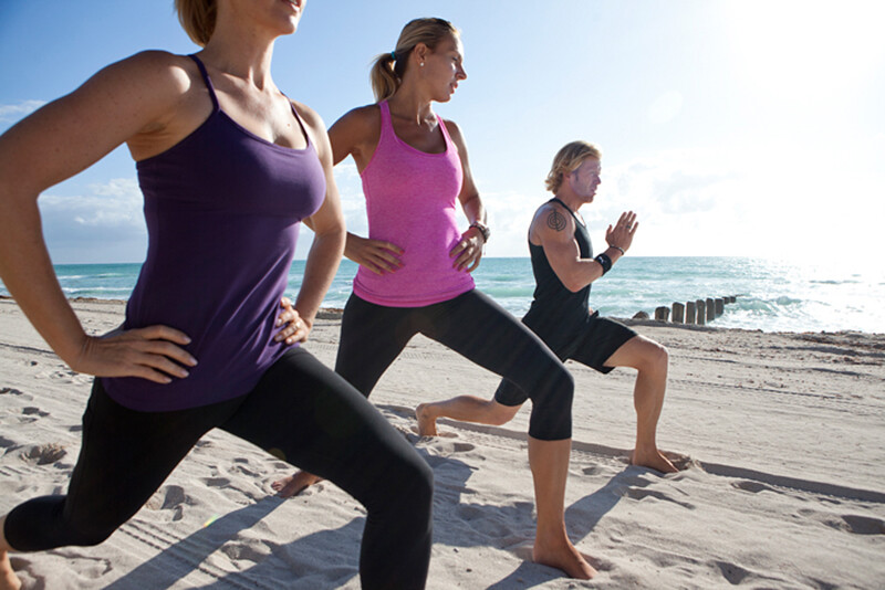 Fitness training Puerto Morelos